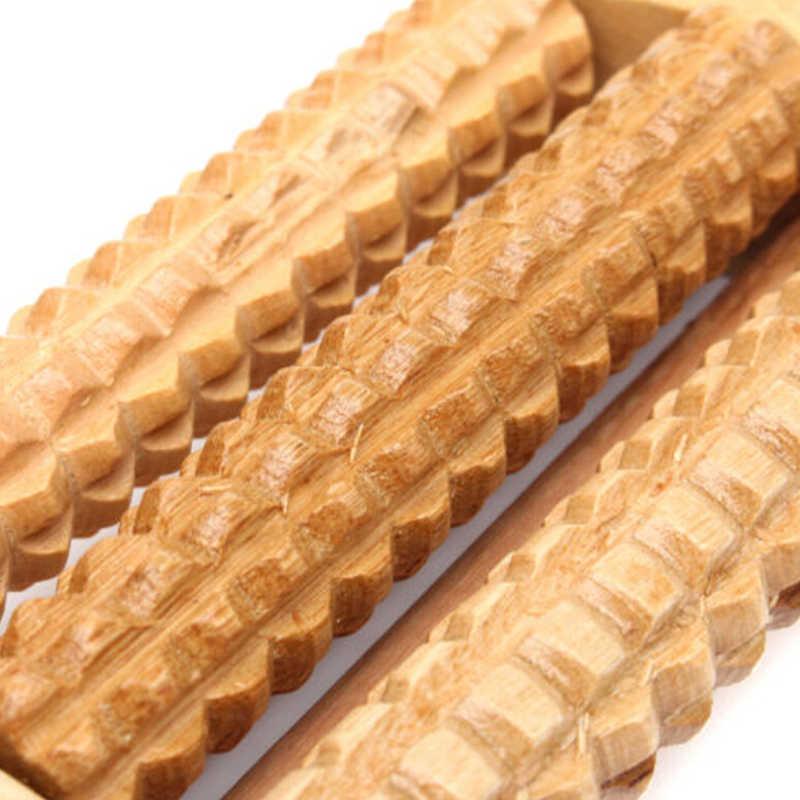 Holz Roller Fuß Massager Stress Relief Spa Gesundheit Pflege Therapie Anti Cellulite Heißer Heath Therapie Entspannen Massage