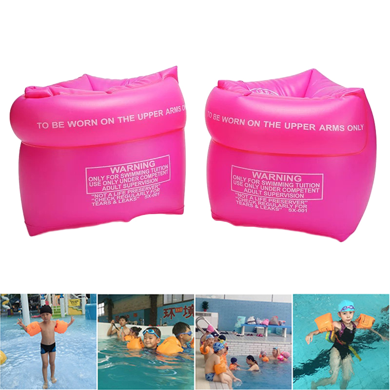 2019 High Quality Arm Floaties Inflatable Swim Arm Bands Floater Sleeves Swimming Rings Tube Armlets For Kids Adult Dropshipping