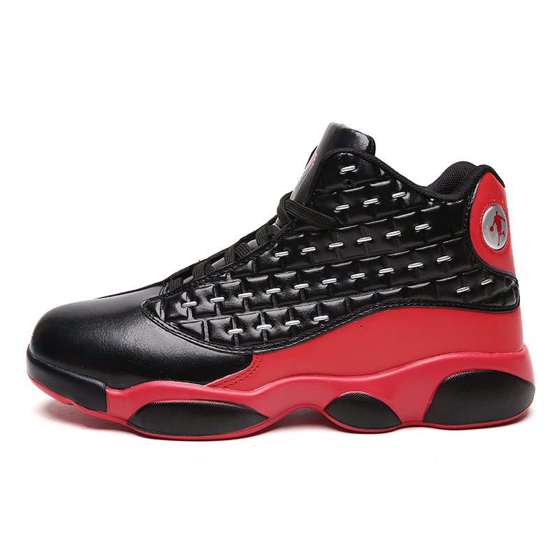 Men Women Retro Basketball Shoes Couple High-top Non Slip Basketball Sneakers Male Outdoor Shockproof Sport Combat Boots Unisex