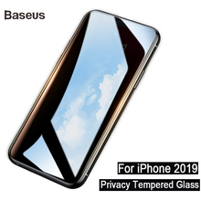 Baseus 0.23mm Privacy Screen Protector For iPhone 11 Pro Max Protective Glass Tempered 2 Piece And Tool