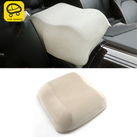 CARMANGO for Nissan Patrol Y62 Auto Car Styling Central Storage Box Armrest Increased Pad Support Interior Accessories