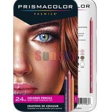 USA Prismacolor Premier 24 color skin color portrait pencil oily Lapis de cor soft core pencil Sanford Prismacolor art pencil