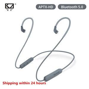 KZ Bluetooth 5.0 Earphone Aptx HD CSR8675 Module headset Upgrade Cable Applies Original Headphones KZ AS10 ZST ES4 ZSN ZS10 Pro