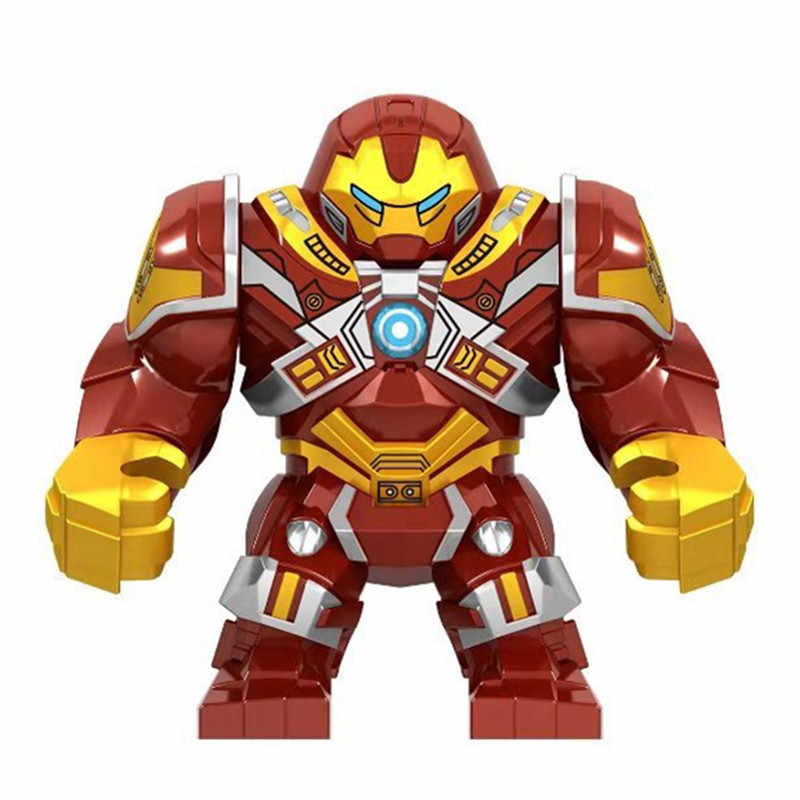2019 Marvel Avengers Endgame Super Heroes Iron Man War Machine Buster Mech Armor Figures Building Blocks Bricks Toys Juguetes