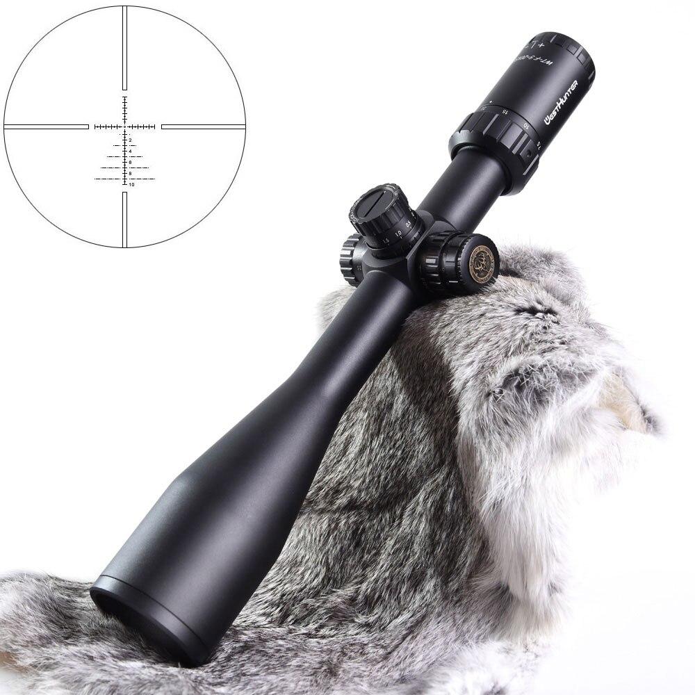 WESTHUNTER WT-F 6-24X56SFIR daleki zasięg zakres taktyczne wojskowe optyka zabytki Side Parallax czerwona kropka luneta dla. 308 karabin