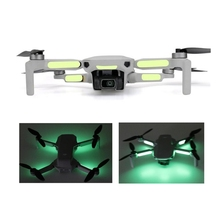 1 Set DJI Mavic Mini Luminous Sticker Fluorescent Patch Night Flight Light Bar for Mavic Mini Accessories