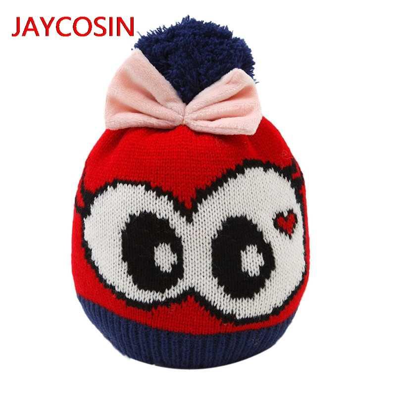 Hot sale Baby Beanie Boy Girls Soft Hat Children Winter Warm Kids Cap 2019 Winter Hat L300802