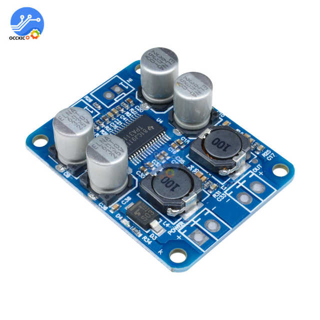 DC8-24V TPA3118 PBTL 60W Mono Digital Audio Amplifier Board AMP Module Chip 1X60W 4-8 Ohms Replace TPA3110 For Arduino 3