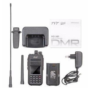Image 5 - TYT MD 380 Walkie Talkie DMR Digital VHF UHF long range Two Way Radio 5 watts MD 380 Transceiver  Ham Radio Amador+Program Cable
