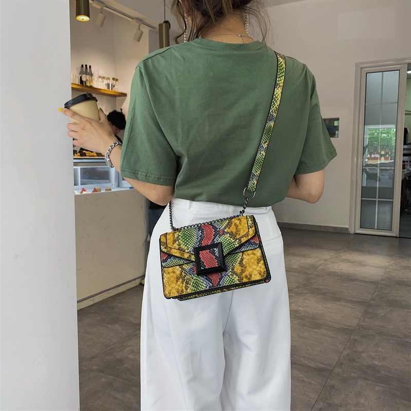 Saco do mensageiro do couro de luxo das mulheres bolsa de ombro da cópia da serpente do vintage crossbody bolsa de ombro