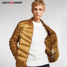 JackJones winter mens 야구 칼라 short warm down jacket | 218412507(China)