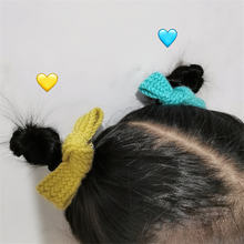 2 шт/компл цветная Вязаная Шерстяная заколка для волос в стиле