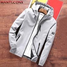 MANTLCONX Nuovo Mens Giacca A Vento Con Cappuccio Giacca di Autunno della Molla 2020 Casual Giacca Con Cappuccio Cappotti Streetwear Outwear Moda Maschile di Marca
