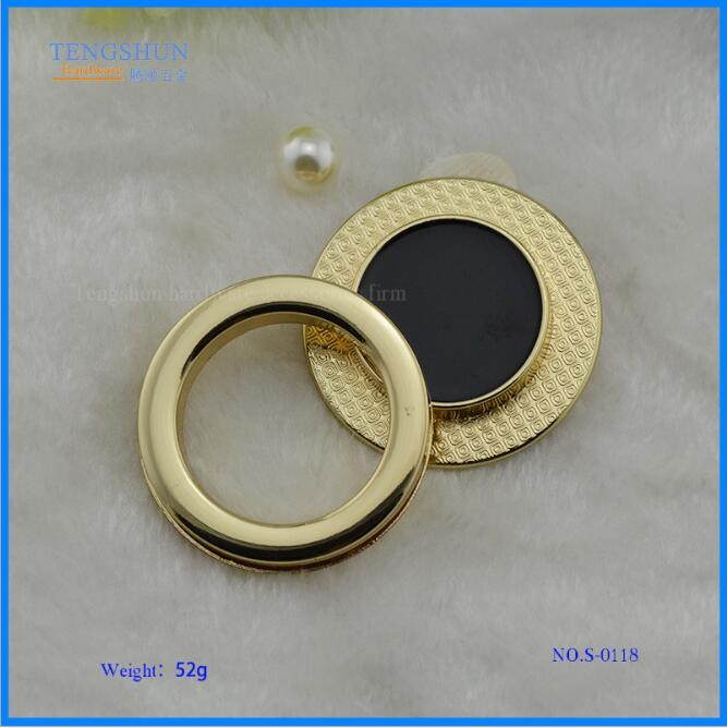 (10pcs/1lot) New Luggage Handbag Hardware Accessories High-grade Handbag Metal Alloy Round Magnetic Lock