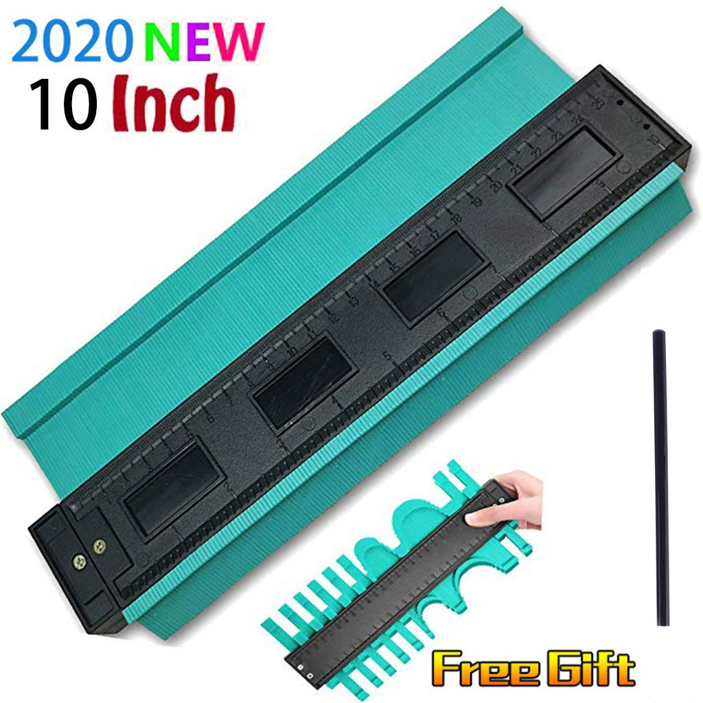 38# 10 Inch Plastic Contour Copy Copier Circular Frame Profiler Tool Printing Tool Artifact Convenient And Easy To Use