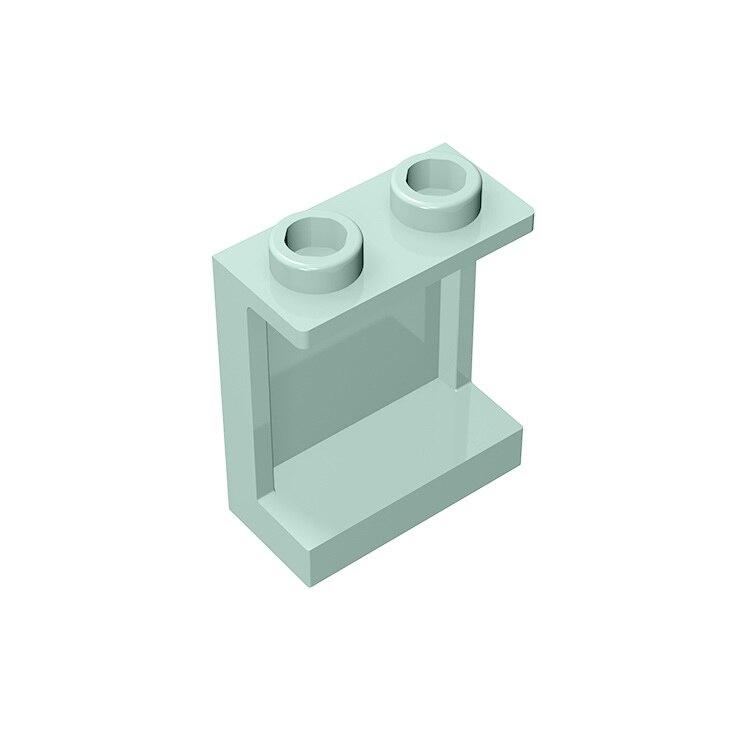 Сборные детали BuildMOC, совместимые с конструкторами, 87552, 4864, 1X2X2, настенная панель LDD87552, детали для строительства, развивающие технические дет...