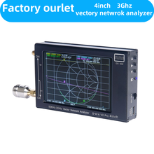 4Inch Display SAA-V2 GS400 NanoVNA V2 3GHz 2.2Version 2000MAh Battery Black Vector Network Analyzer HF VHF UHF Antenna Analyzer