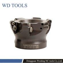 RPMW Rotonda Inserti in metallo duro faccia mill holder EMR 5R 6R 50 63 80 4T 5T 6T fresa fresatura cnc strumenti