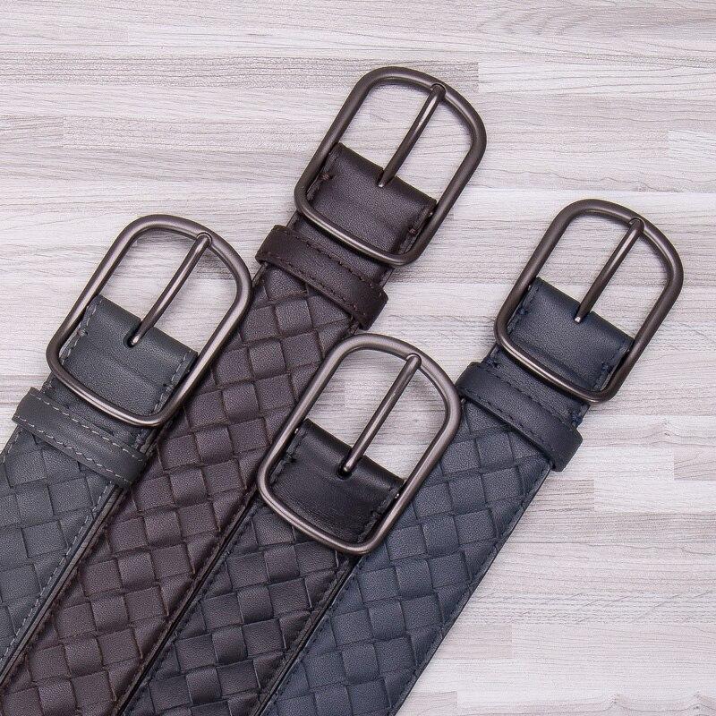 Luxus Designer Klassische Gürtel Männer Kuh Echtes Leder Vintage Männlichen Gürtel Hohe Qualität Mit Pin Schnalle Casual Business Gürtel