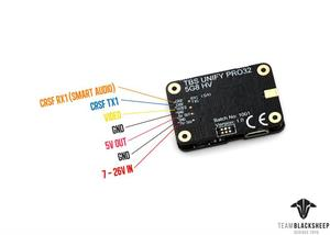 Image 5 - ORIGINAL TBS Unify Pro32 5G8 HV Video transmitter with MMCX connector For RC Racing Drone RC model