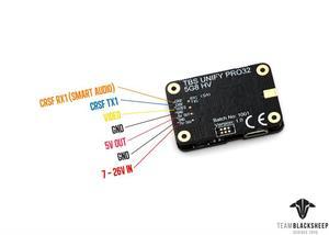 Image 5 - מקורי TBS לאחד Pro32 5G8 HV וידאו משדר עם MMCX מחבר עבור RC מירוץ Drone RC דגם