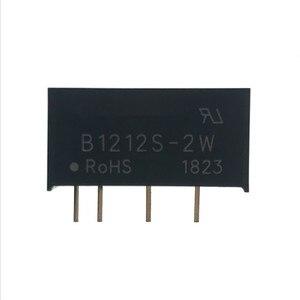 Image 2 - 5 pièces B1212S 2W SIP 4 B1212S DC DC module dalimentation à découpage 12V à 12V puce dalimentation isolée 100% nouveau et original