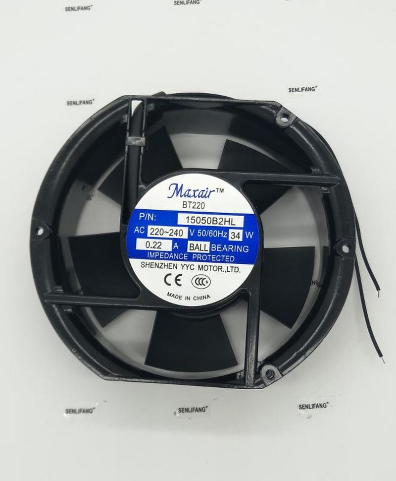 For Maxair 15050B2HL AC 220V 240V 34W Server Cooler Fan