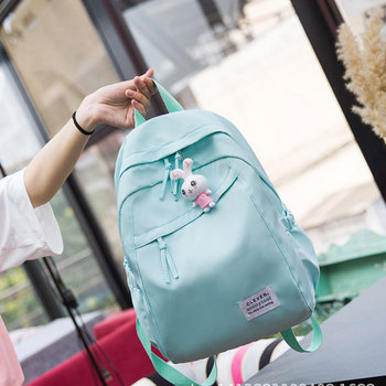 Teen Backpacks for Teenage Girls Cute School Bags Green Oxford Back Pack Women Bag Pack College Wind High School Back Bag Big