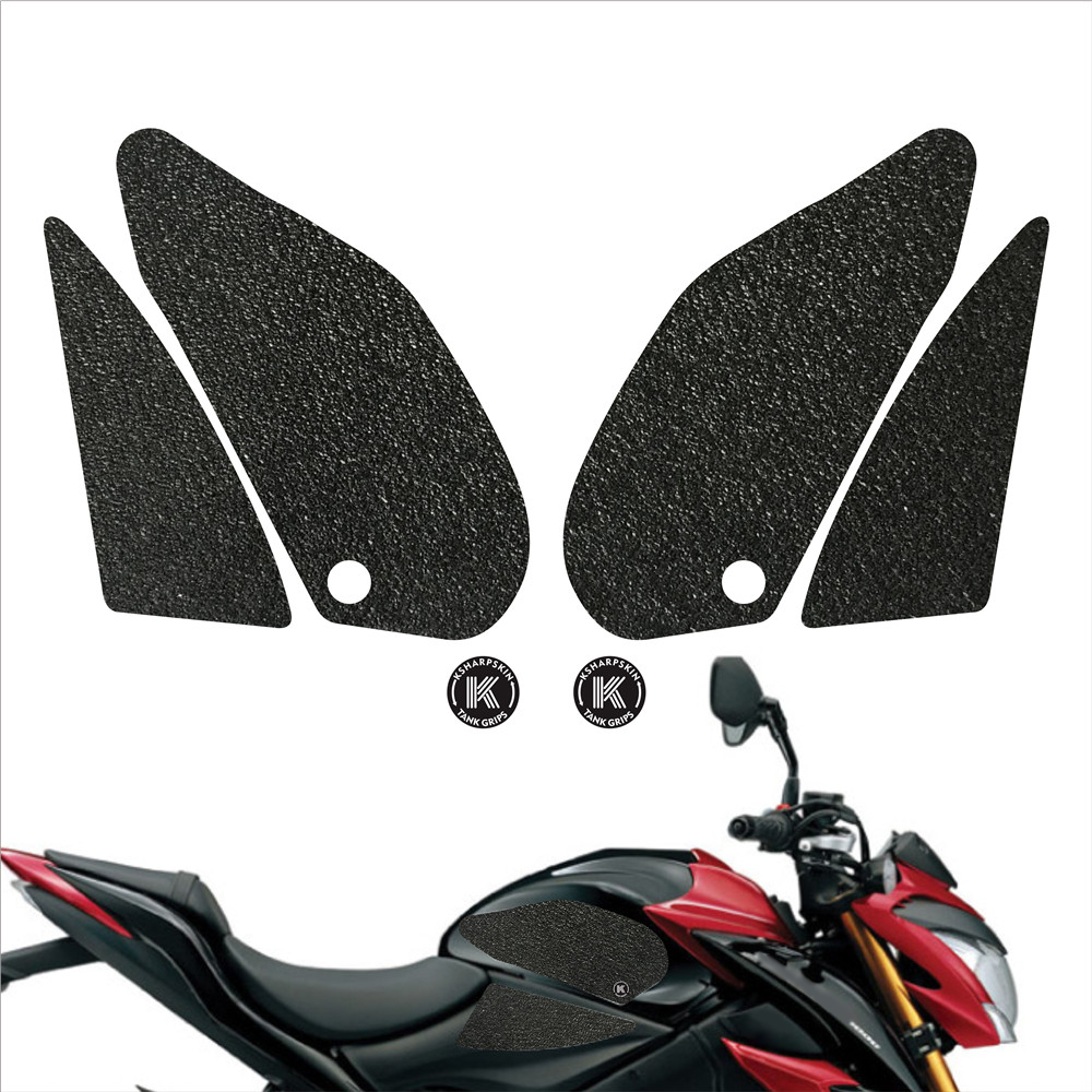 Motorcycle Tank Pad Protector Decal Knee Grip Traction Side Non-slip stickers For SUZUKI 16-18 GSX-S1000 ABS 18 GSX-S 1000Z