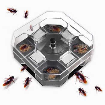 家庭用実効ゴキブリトラップボックス再利用可能なゴキブリバグゴキブリキャッチャーゴキブリキラー農薬キッチン餌トラップ - DISCOUNT ITEM  34% OFF All Category