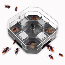 Household Effective Cockroach Traps Box Reusable Cockroach Bug Roach Catcher Cockroach Killer Pesticide for Kitchen Bait Traps