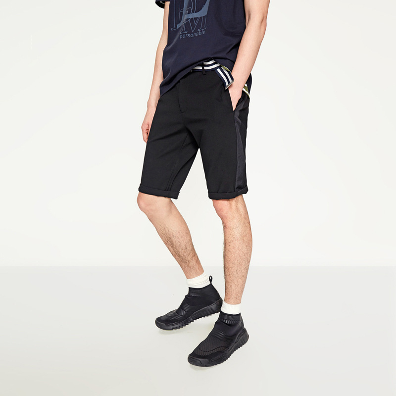 Cut The Tag Off Casual Pants MEN'S Middle Pants Elasticity Shorts Business Casual Brand Fashion Summer BEEKING Joint