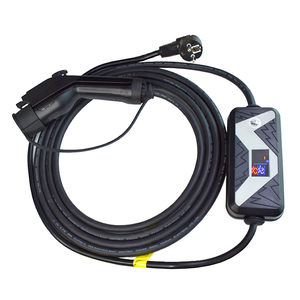 Image 1 - 5 metrów elektryczny samochód ładowarka SAE J1772 przenośny EV typ złącza kabla 1 wtyczka ładowania samochodów elektrycznych