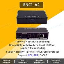 Link Pi ENC1-V2 Hisilicon Hi3520DV400 dekoder HDMI dekoder HD SR/RTMP/RTSP/ONVIF/HLS transmisja na żywo obsługuje YouTube, Facebook