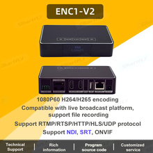 Encoder-Decoder Broadcast-Supports Hisilicon ENC1-V2 HDMI Pi Link Ce Hi3520dv400 Youtube