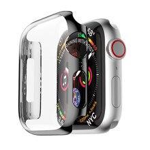 Чехол для apple watch band apple watch 5 4 3 Чехол 44 мм 40 мм ремешок iwatch band 42 мм/38 мм защита экрана Аксессуары для часов