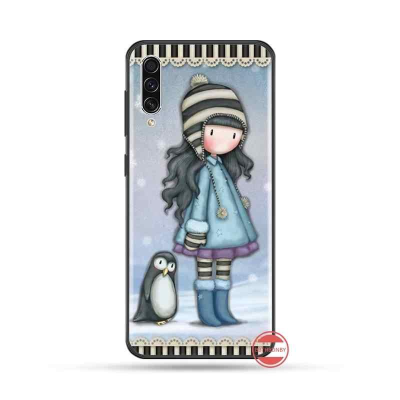 Rosa Santoro Gorjuss mädchen Abdeckung Weiche Shell Telefon Fall Für Samsung A20 A30 30s A40 A7 2018 J2 J7 prime J4 Plus S5 Hinweis 9 10 Plus