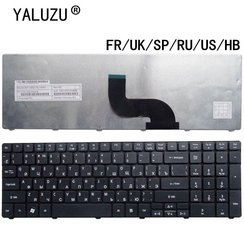 Клавиатура для ноутбука Acer Aspire 7738 5538 5741 p5we 7551 5749 5750 5560 5560G 5552G 7741G 7741Z 7745G США/Великобритания/SP/RU/FR/HB