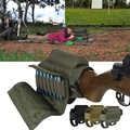 Paquet de fusil tactique réglable en Nylon équipement Sports de plein air chasse accessoires joue repos Sniper bout à bout Stock fusil stockage