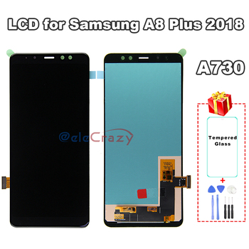 100% tested For SAMSUNG Galaxy A8 Plus 2018 LCD A730 A730F Display with Touch Screen Assembly Replacement AAA TFT Quality 100% tested aaa quality for samsung galaxy a5 2015 a500 a500f a500m replacement lcd display with touch screen digitizer assembly