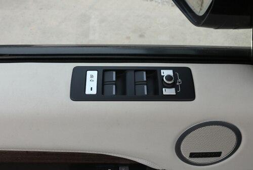 Interior Door Window Switch Panel Cover Bezel Trim Molding Fit for Land Rover Range Rover L405 2013-2017
