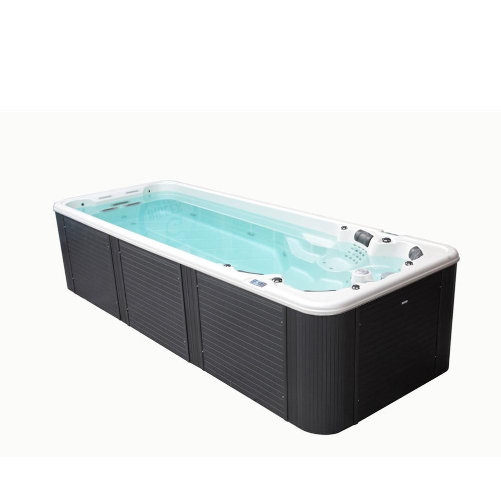 Fibra de vidro acrílico piscina spa família exterior BG-6608-1