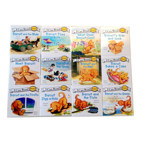 Бисквит Серия Phonics английская книга с картинками я могу читать детская книга с рассказом раннее образование карманная книга для чтения 24