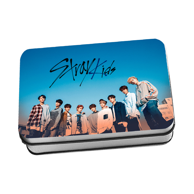 40pcs/Set KPOP Stray Kids New Album  I AM YOU Crystal Card Lomo Cards Stickers Photocard Poster Gift Stationery Set