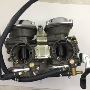 Image 2 - SherryBerg carb LIFAN Carburettor For Yamaha XV400 V400 carburetor assembly for V400 V535 V600 V650 for Harley 883 vegaser