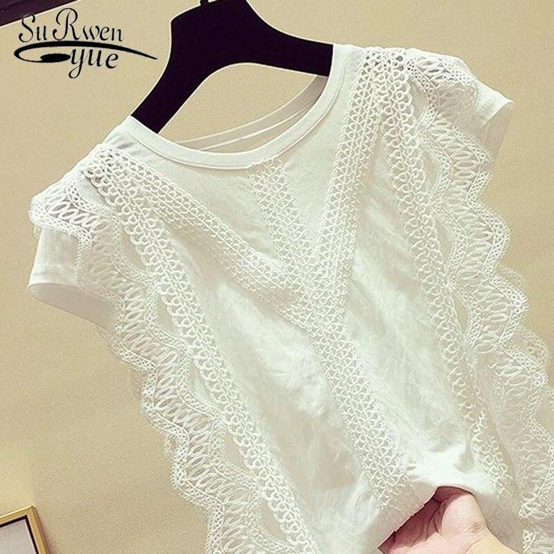 Hb0711837c2ac406e9e06117df2e8ae7cD Ladies tops Fashion Women's Clothing Wild Perspective Small Shawl Chiffon Lace Lacing Boleros shirts tops 802E 30