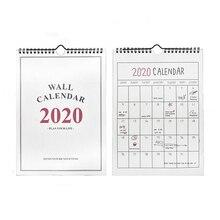1 шт., на, 365 дней, настенный бумажный календарь, ежедневник, заметки, чтобы сделать список, Kawaii, школьные офисные принадлежности,,09~,12