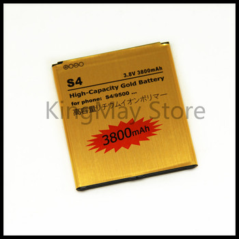 High Capacity B600BC Golden Li-ion Replacement S4 Battery for Samsung Galaxy S4 i9500 i9508 i9502 i959 i9505 battery S4 B600BE mallper replacement 3 7v 1200mah li ion battery for samsung galaxy ace s5830 orange