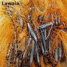 Lawaia He Hand Throw Cast Net, Tarpon Fishing N Diameter:94.5in Network Fishing-net Fishing-nets