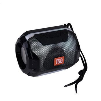 Mini altavoz estéreo TG162 con Bluetooth, altavoz pequeño portátil con luz LED,...